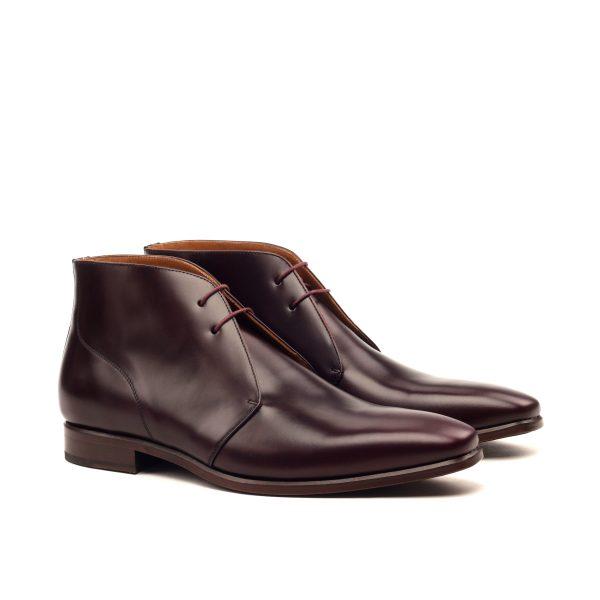 1a13dedcfe4 Bota de vestir Chukka en boxcalf burdeos - Cambrillón Bespoke Leather