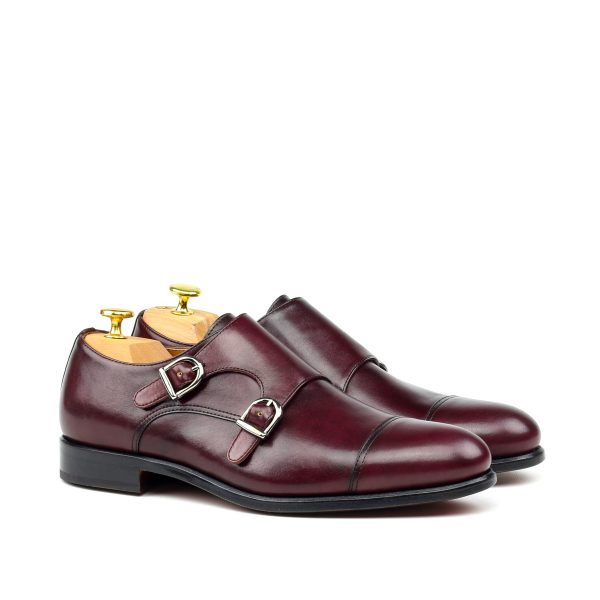 Monkstrap BIEL boxcalf burgundy box calf