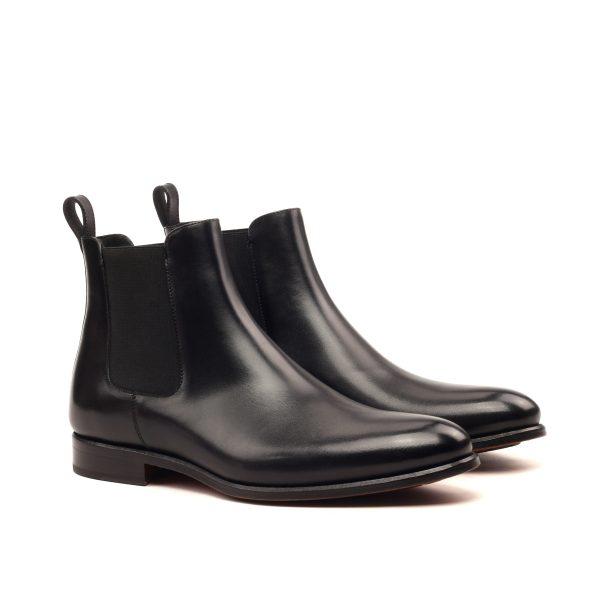 b3bce1005bc Bota Chelsea en boxcalf negro - Cambrillón Bespoke Leather