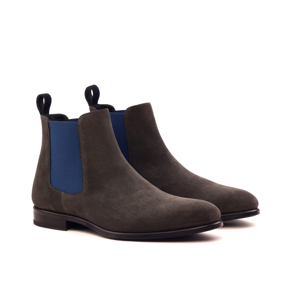 Stone grey lux suede Chelsea boot