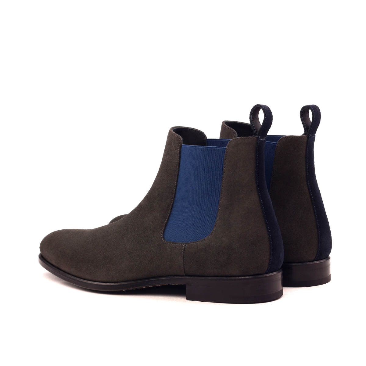 054760d25aadb Chelsea boot stone grey lux suede - Cambrillón Bespoke Leather