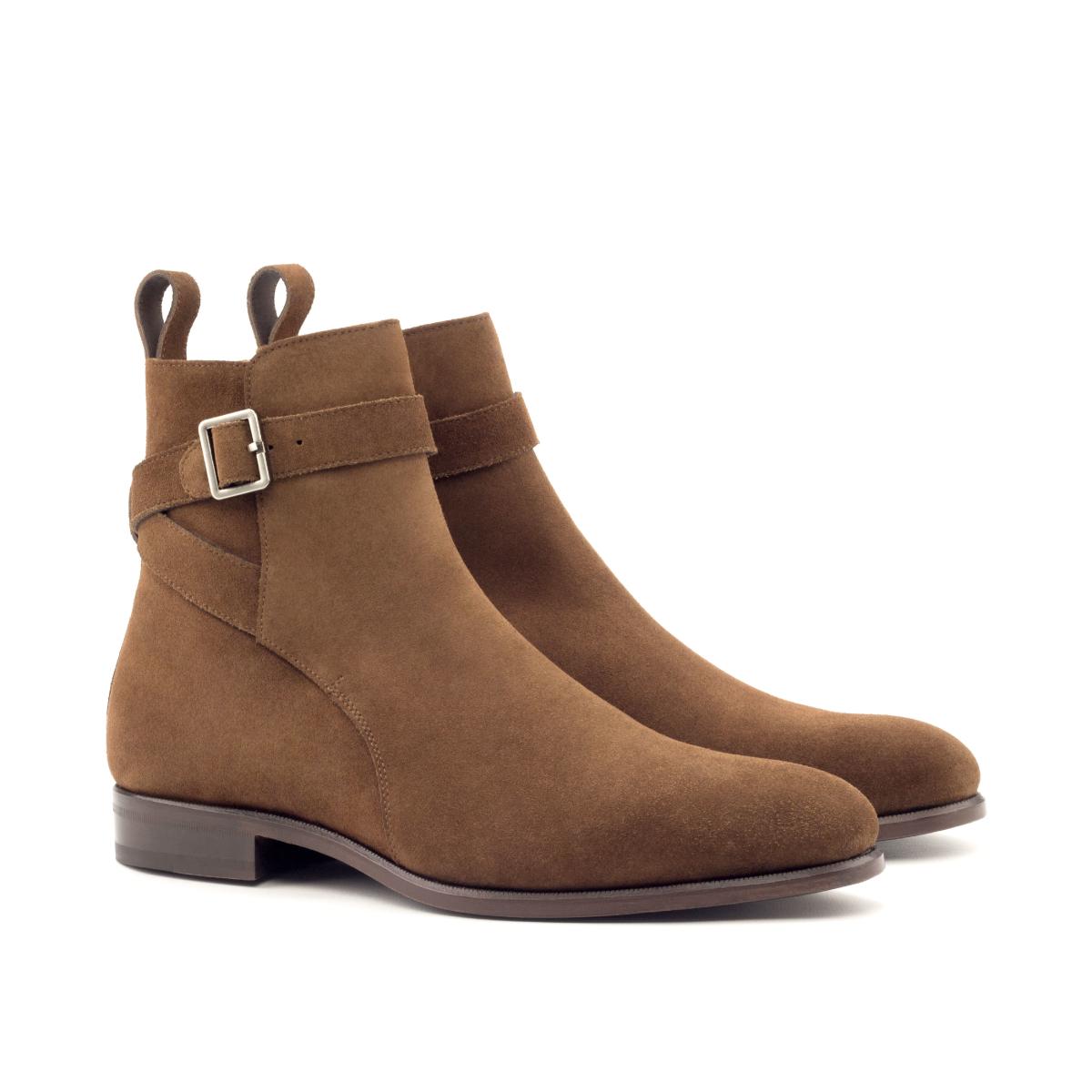 Tobacco brown suede Jodhpur boot Cambrillon