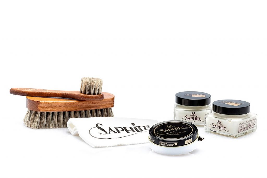 Basic Leather Shoe Care kit