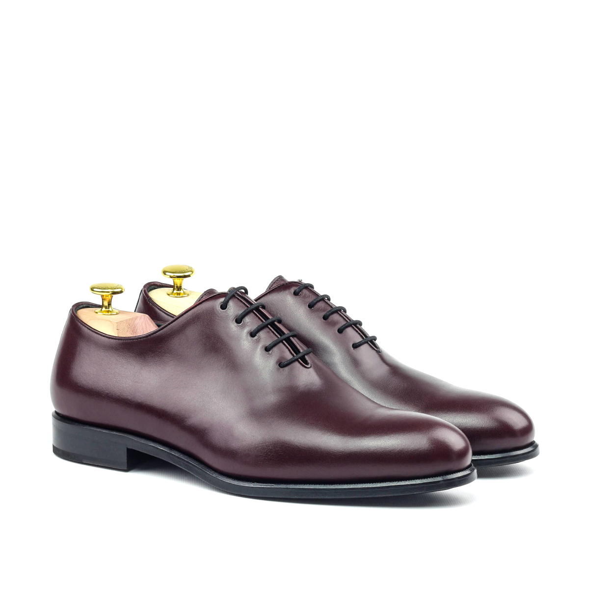 Burgundy boxcalf Oxford