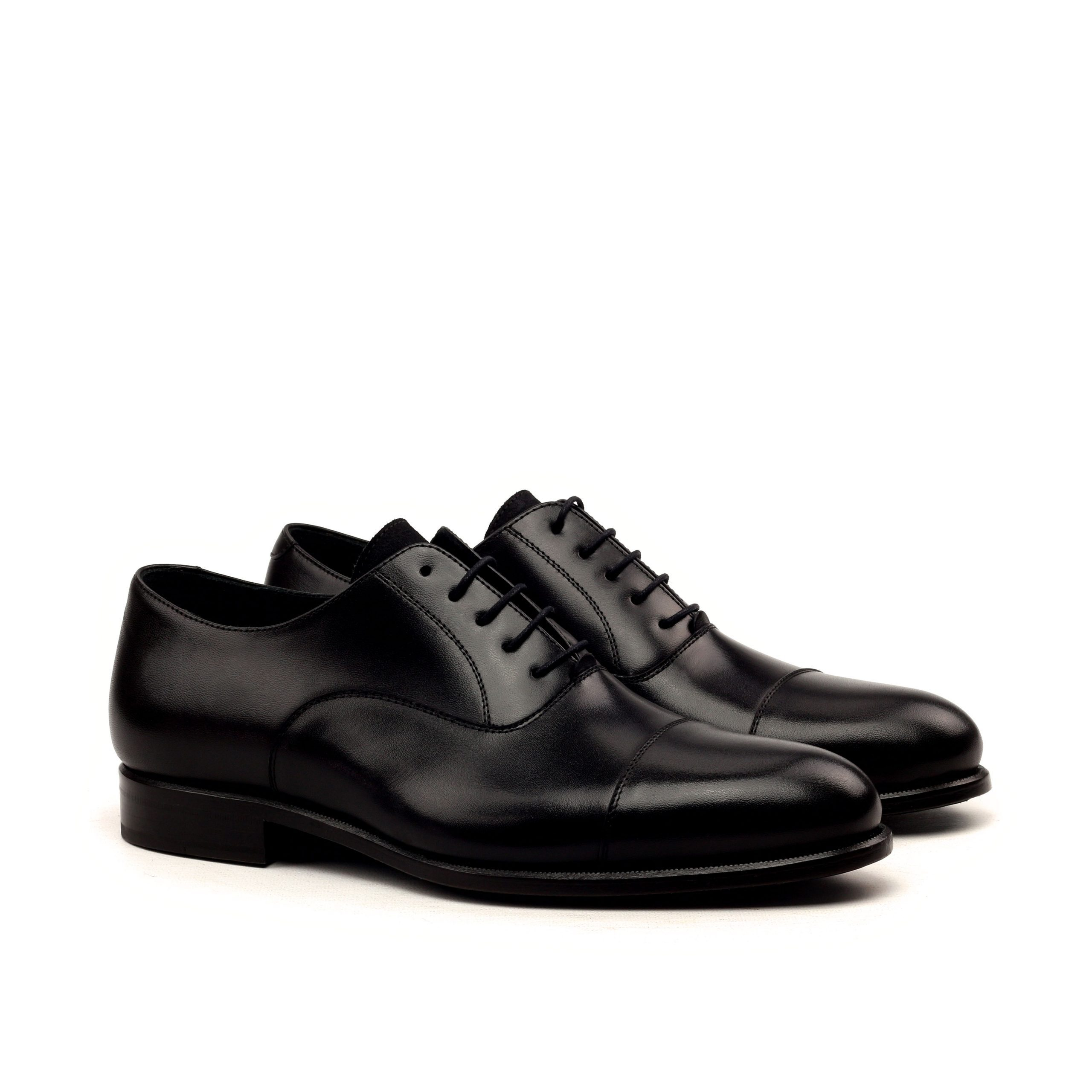 Black boxcalf Oxford