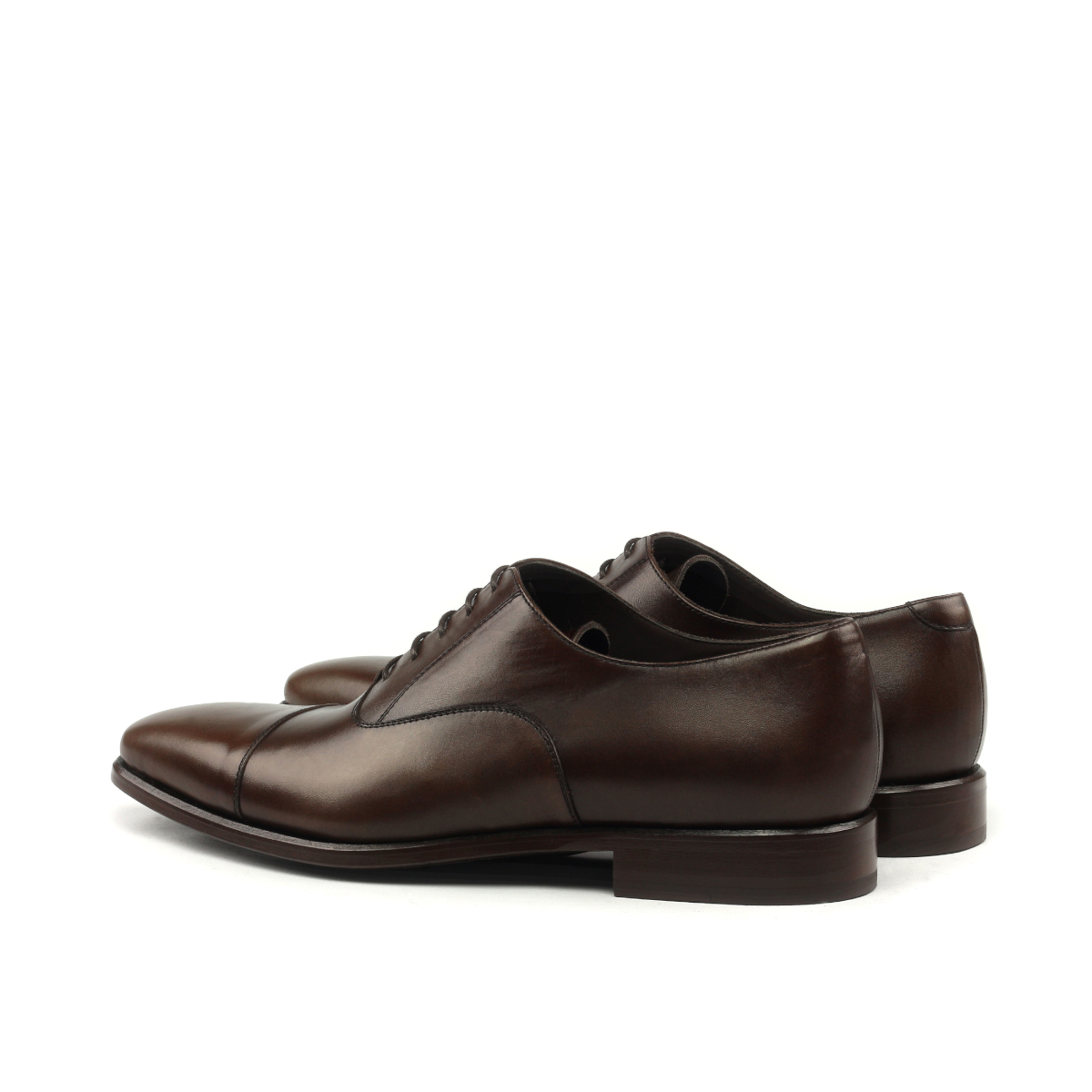 Oxford cap toe en boxcalf marrón