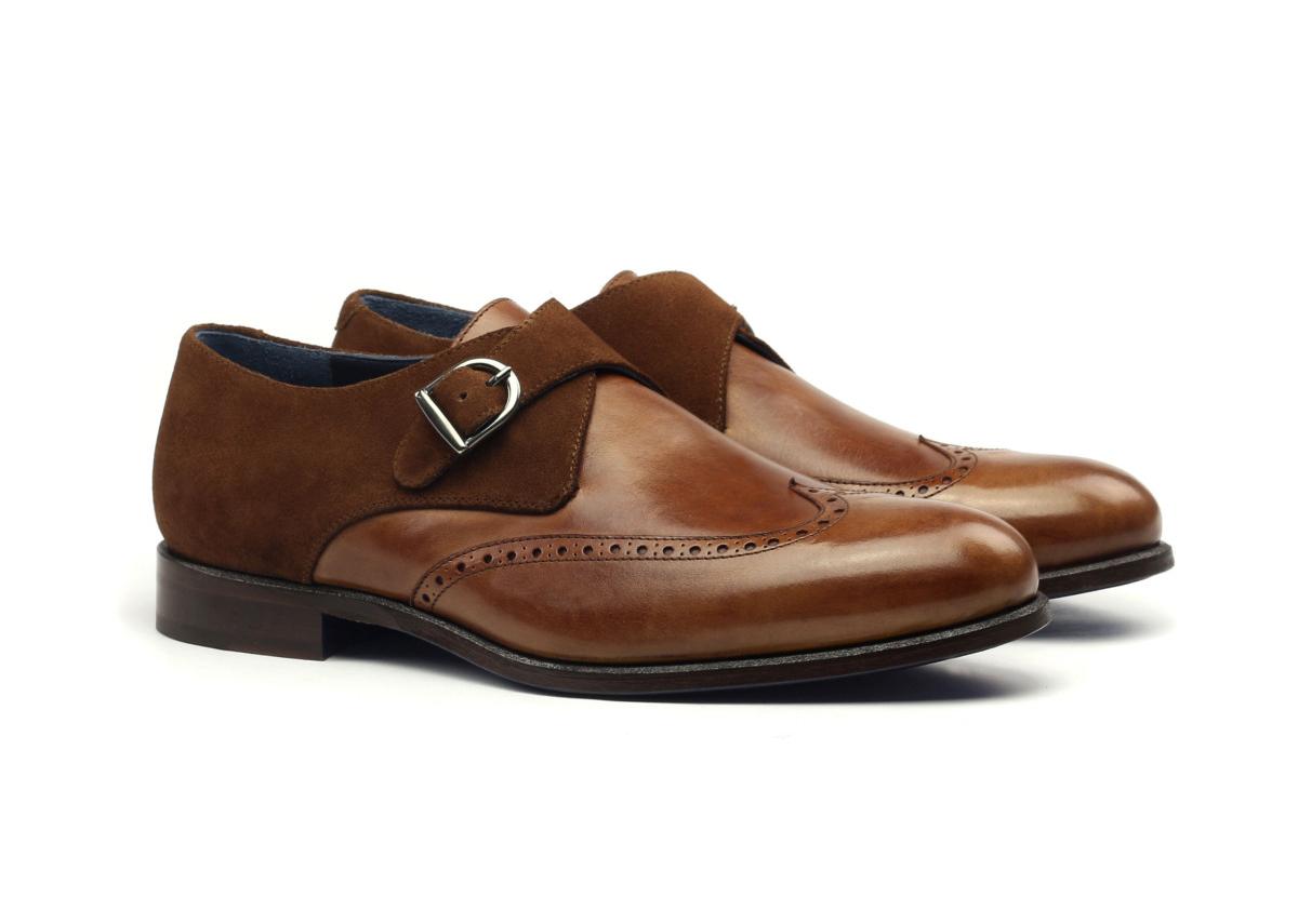Single Monkstrap BIEL Zapatos personalizados para hombre