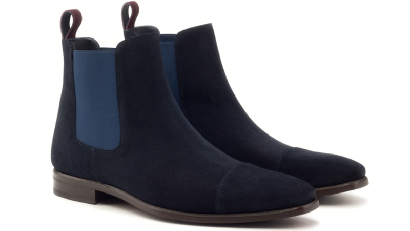 Goodyear welted Chelsea boot cambrillon