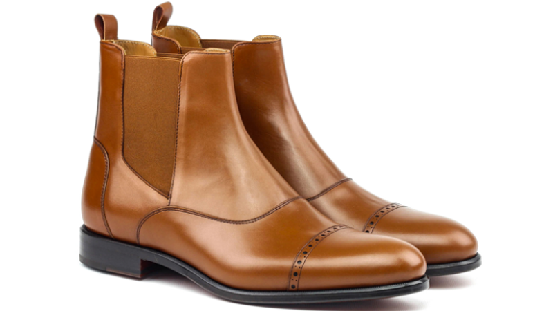 bespoke chelsea boots for men