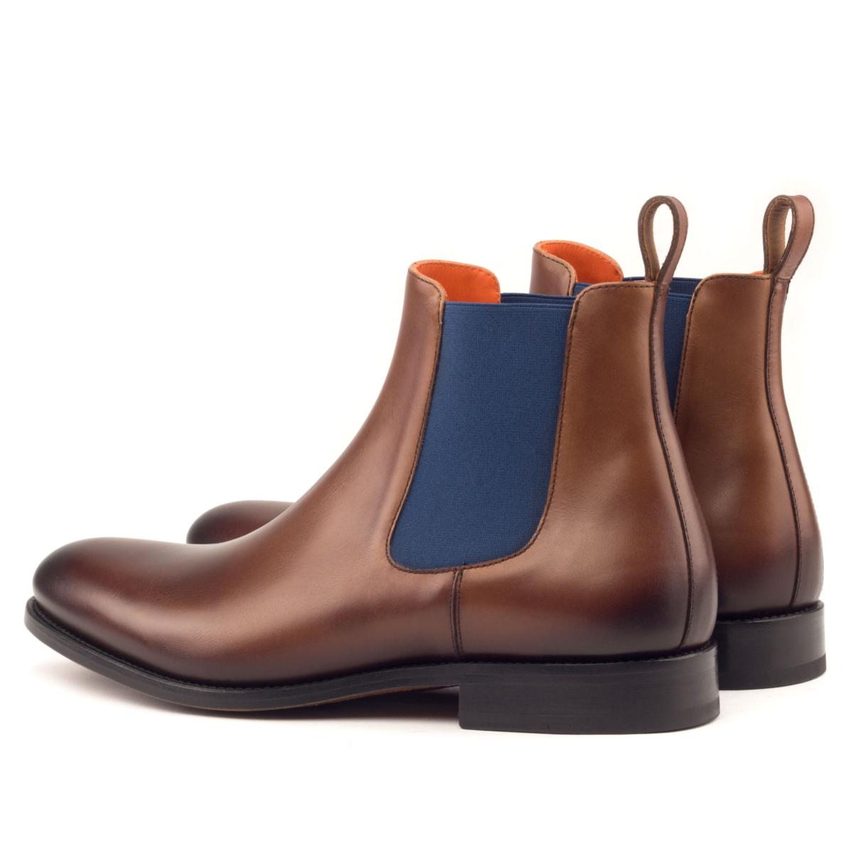 Chelsea boot brown box calf