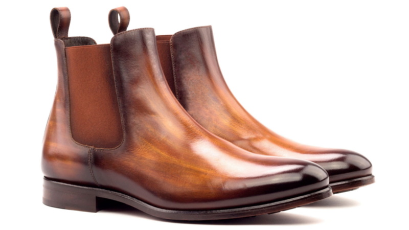 Bespoke chelsea boot for men Cambrillon
