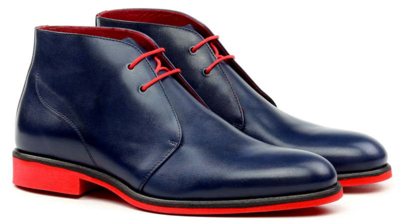 chukka boots for men in leather Cambrillon