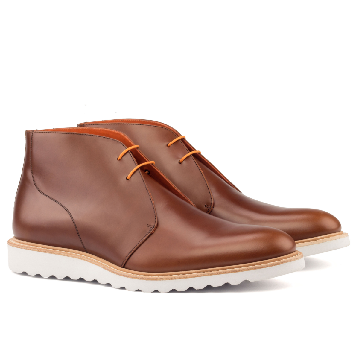 6932e69be6f94 Chukka boot and sport sole - Cambrillón Bespoke Leather
