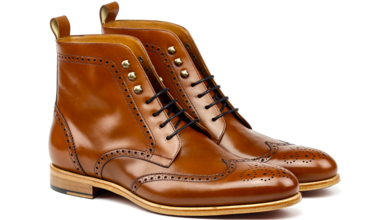 Wingtip boot for men Cambrillon