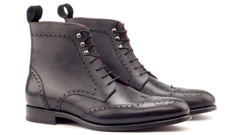 Brogue boot for men cambrillon