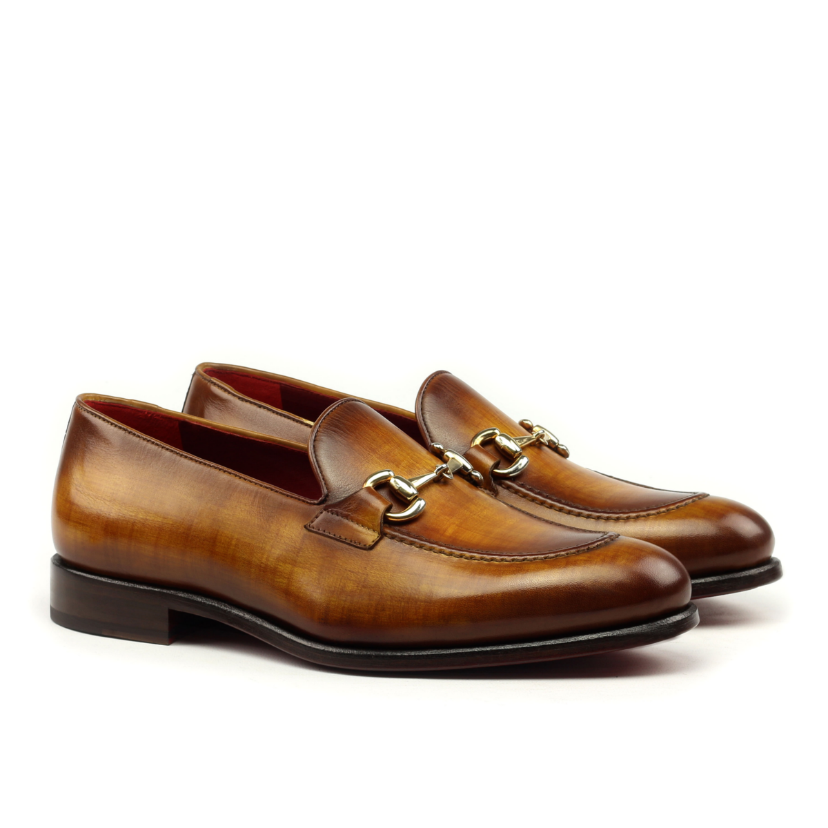 193509f6ced0a Gucci loafer in crust patina - Cambrillón Bespoke Leather