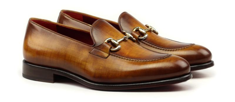 Gucci Loafer para hombre en crust patina cognac_1-6