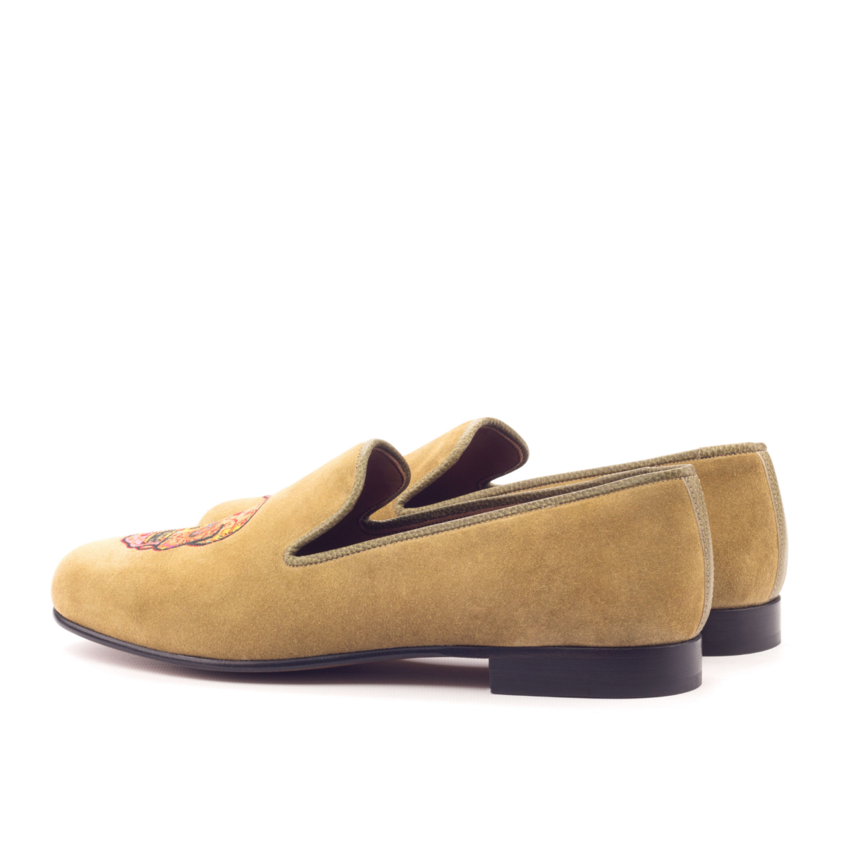 ed3887630d045d Camel suede Slipper - Cambrillón Bespoke Leather