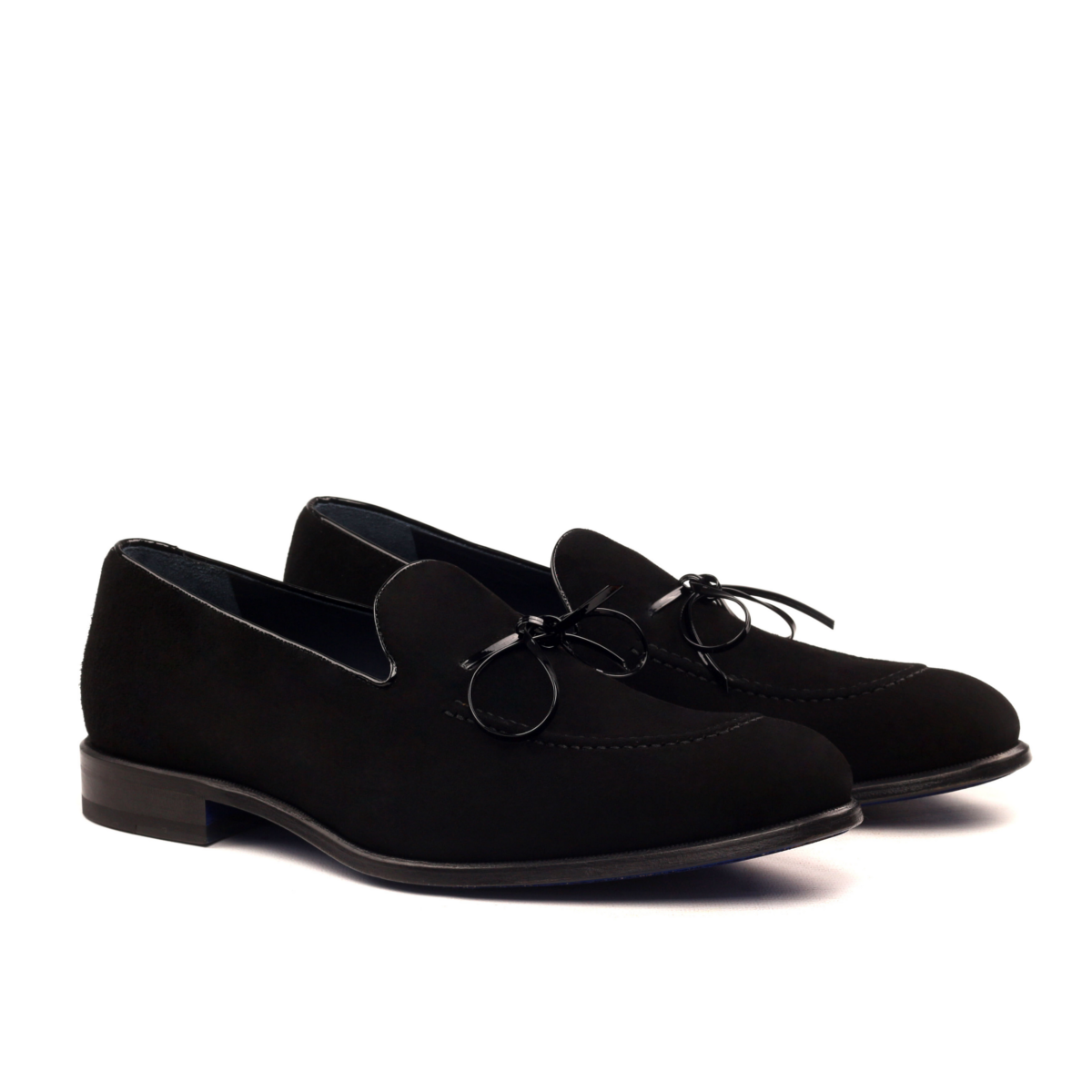 Loafer in black patent leather