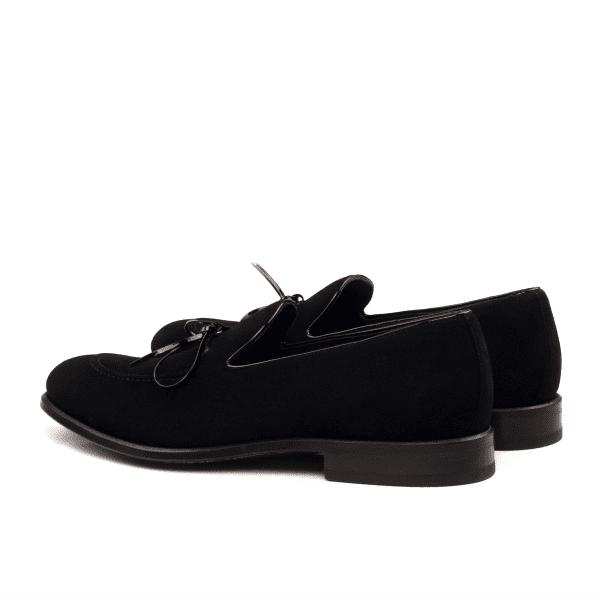 Loafer LUCA para hombre en ante y charol negro_2