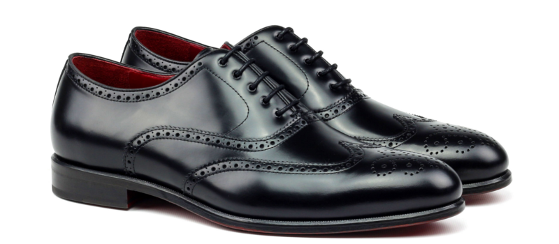 Oxford-full brogue black Cambrillon