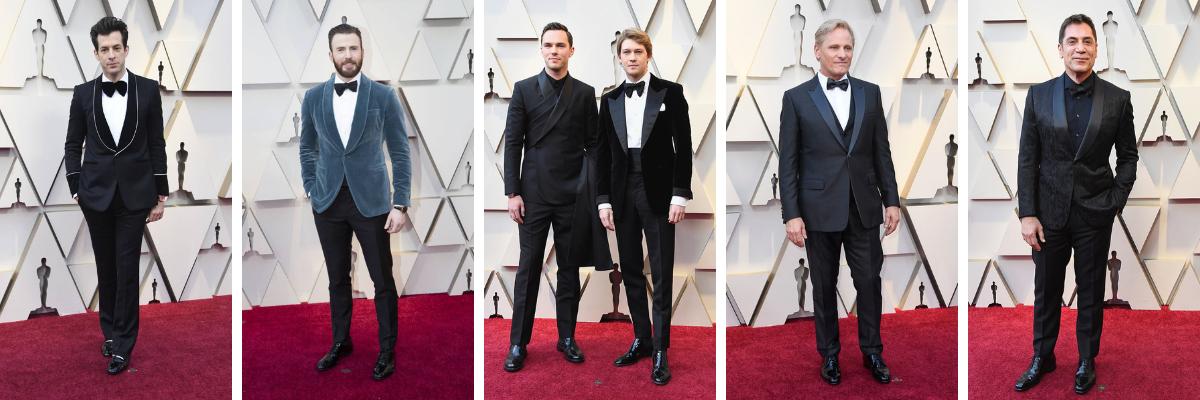 Los hombres más elegantes de los Oscar 2019