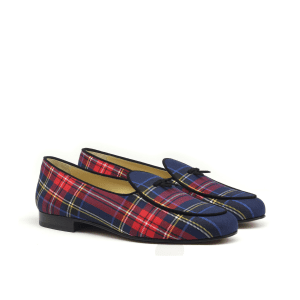 Belgiam slippers tartan