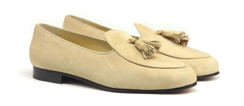 Belgian Slippers suede
