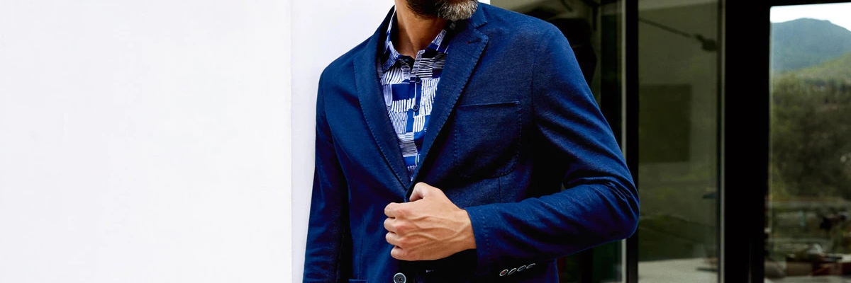 How to wear: Americana in navy Blue