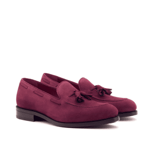 Loafer Kid suede wine