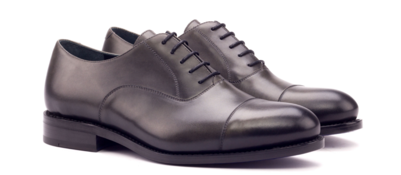 Oxford Painted calf Grey
