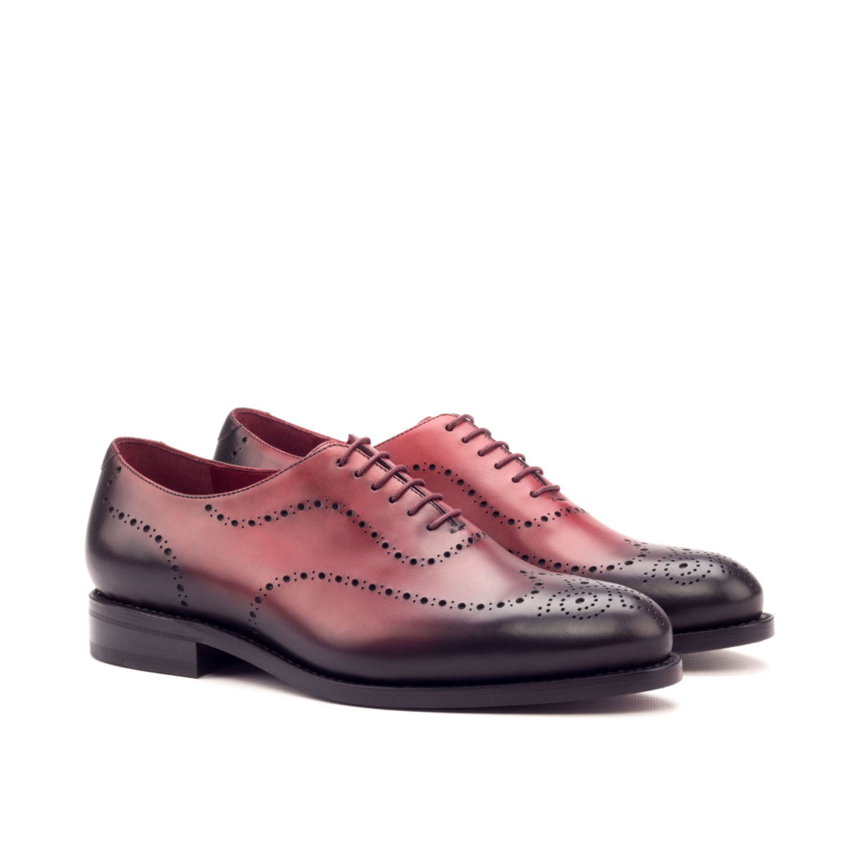 Red boxcalf Oxford