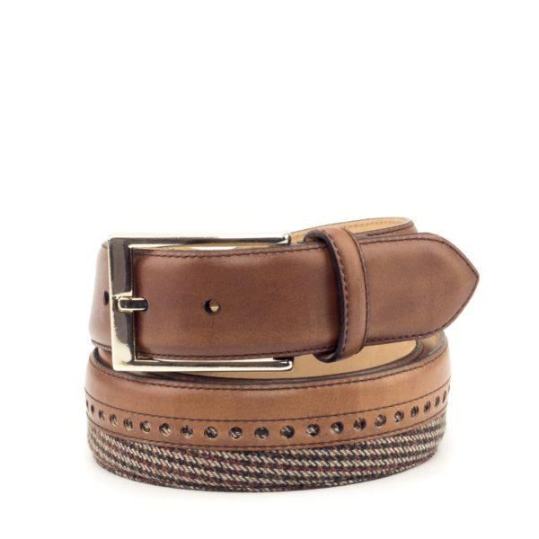 cinturon-para-hombre-boxcalf-marron-y-tweed-RETIRO-2