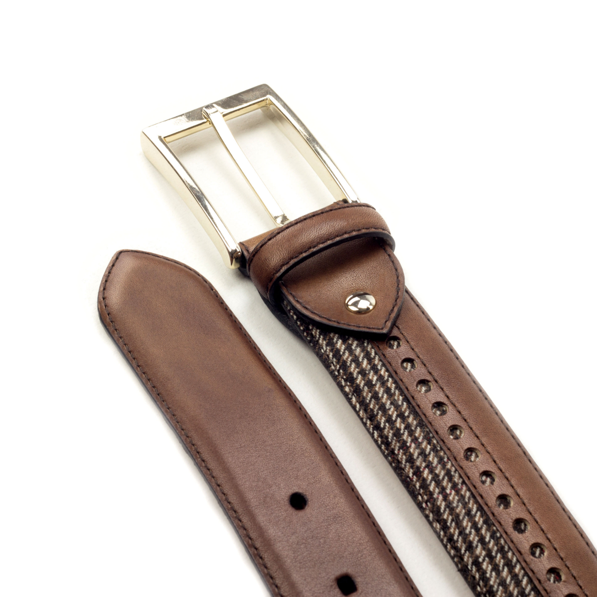 Men's bespoke belt Retiro