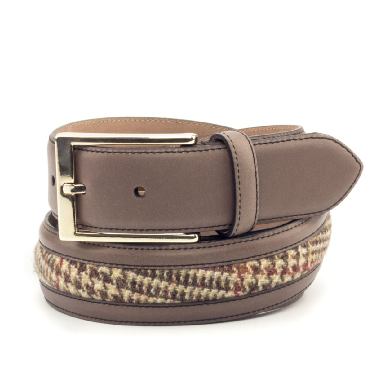 Men's bespoke leather belt Vergara