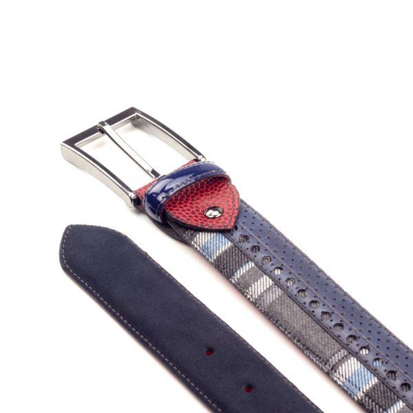 cinturon-para-hombre-boxcalf-y-ante-azul-marino-y-tejido-lana-RETIRO