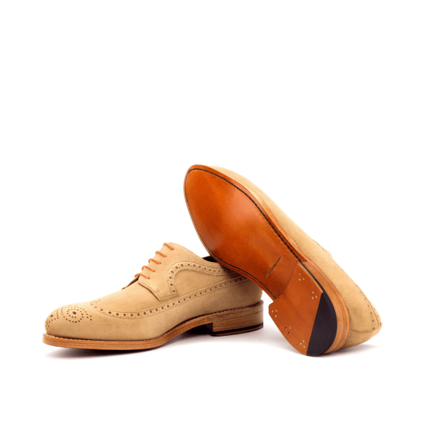 longwing suede camel