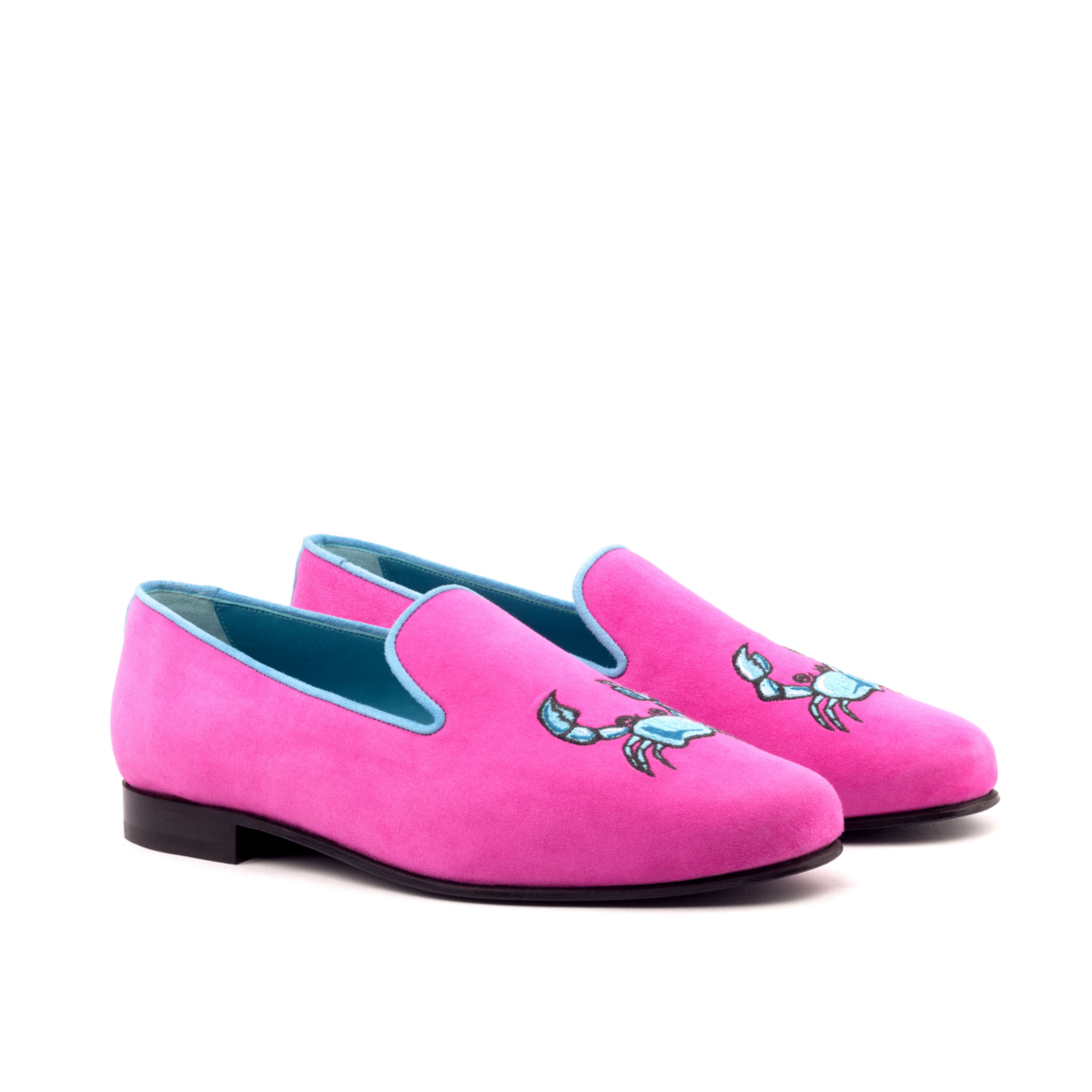 Fuschia suede Slipper