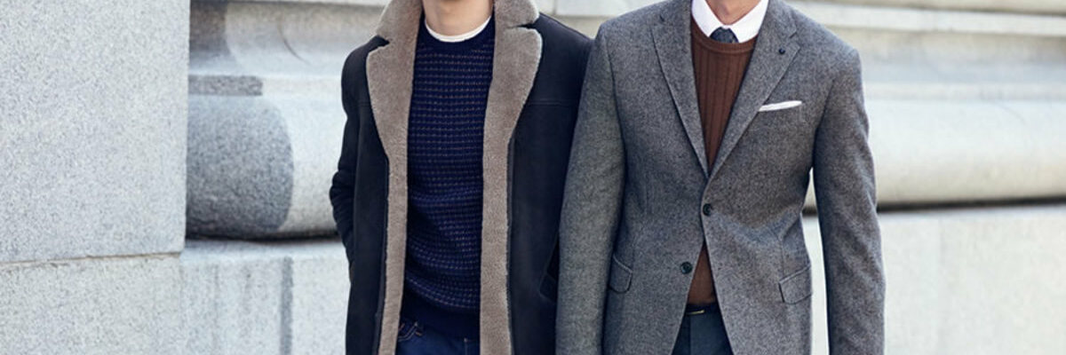 Dressing in layers is now a trend