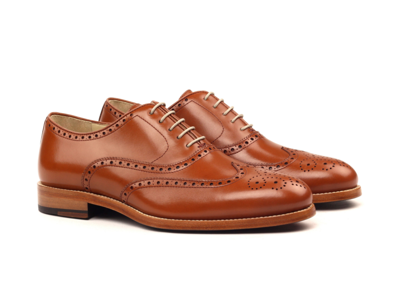 Bespoke Full Brogue Oxford shoes for men Cambrillon