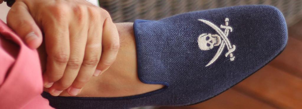 Slippers para hombre personalizadas
