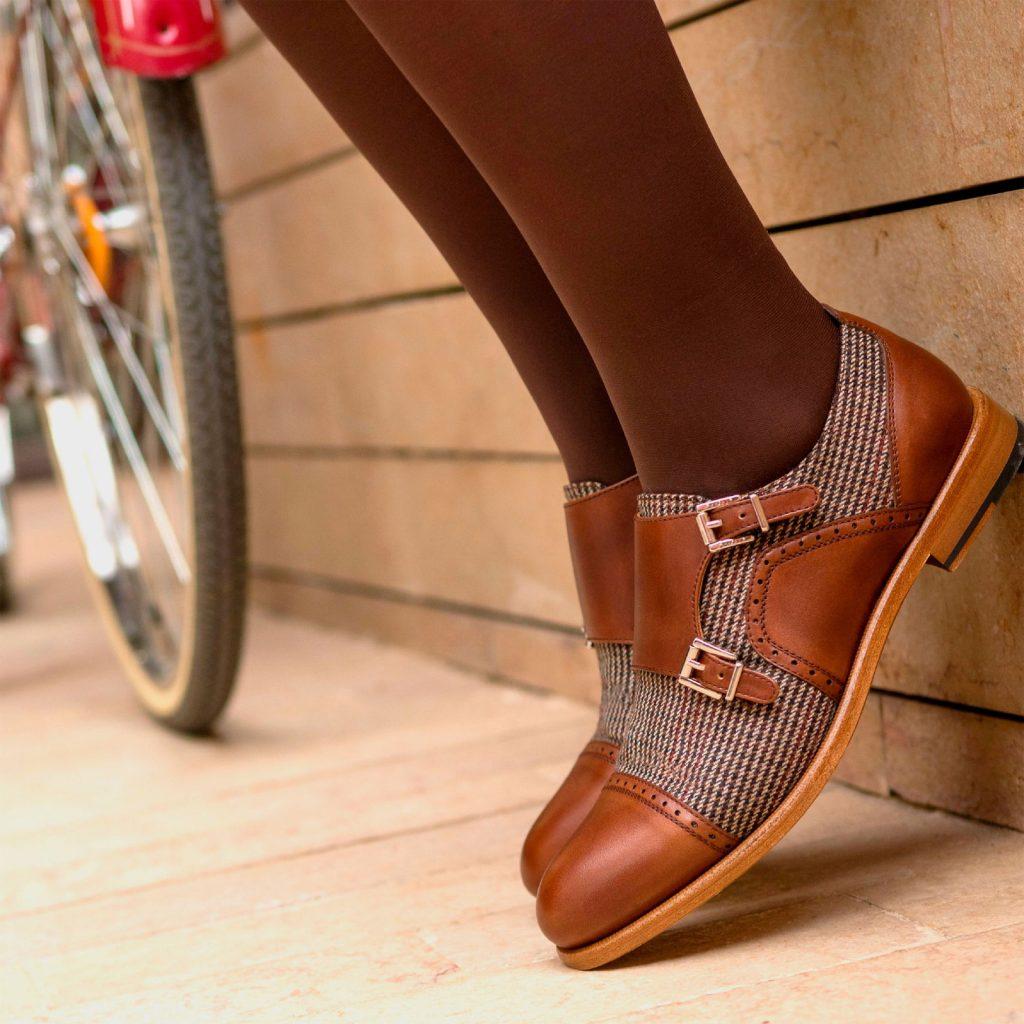 Alba zapatos con hebilla de vestir personalizados de vestir para mujer Cambrillon