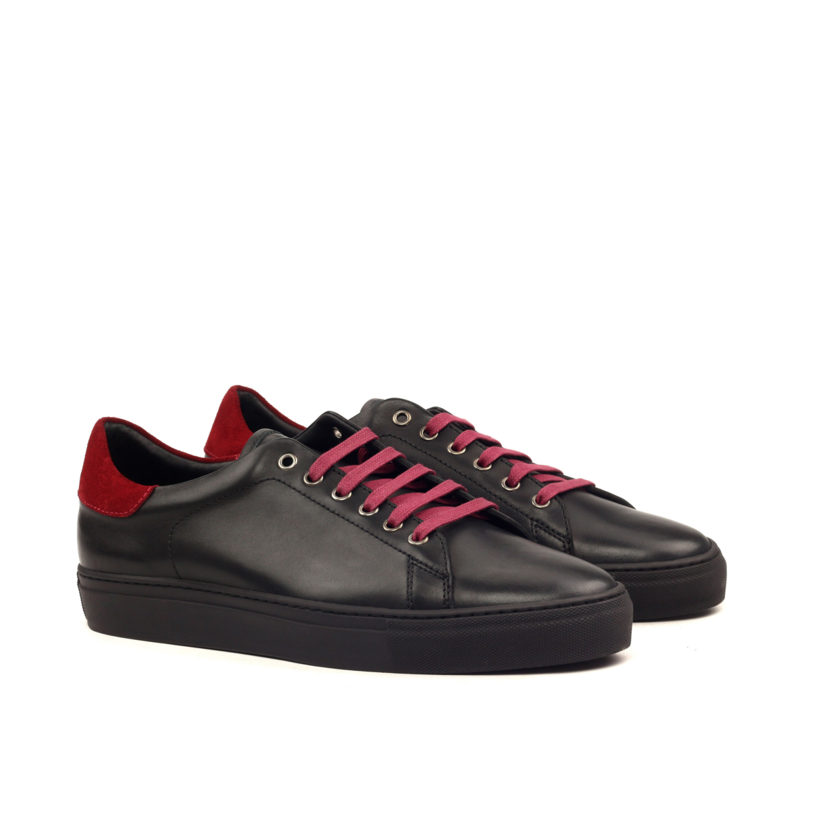 LEO black box calf sneakers