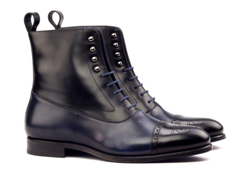 Bespoke balmoral boot for men Cambrillon
