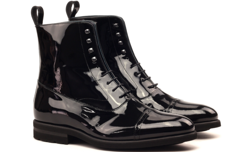 balmoral boot patent leather