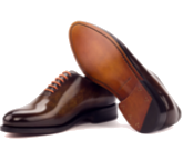 Bespoke Goodyear welted shoes for men