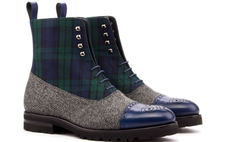 balmoral boot blackwatch