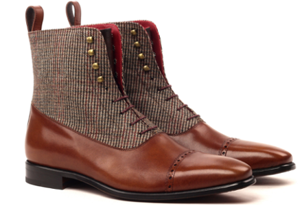 Handmade bespoke boots for men Cambrillon
