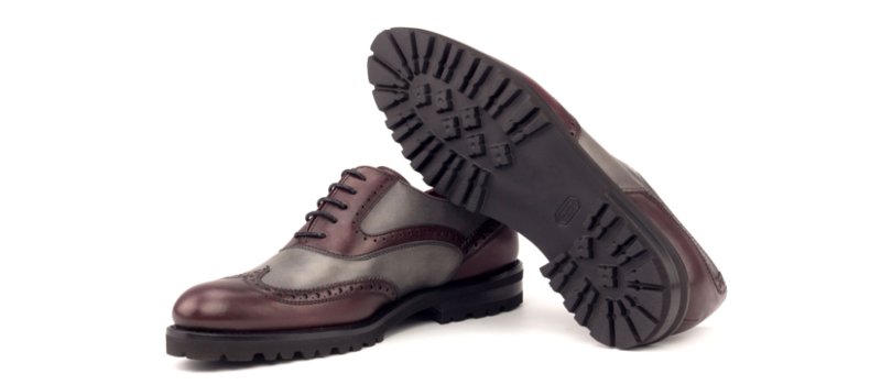 Bespoke Full Brogue Oxford shoes for women Cambrillon 1