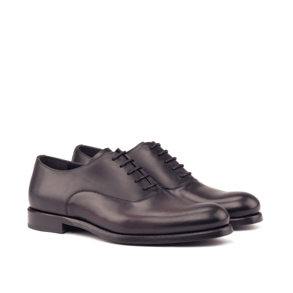 Black Bespoke Saddle Oxfords for women Cambrillon